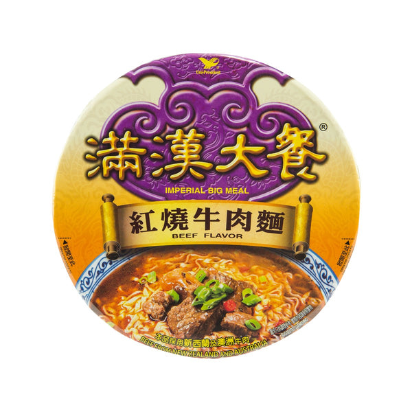 UNI PRESIDENT Imperial Big Meal Beef Flavor  (192g)