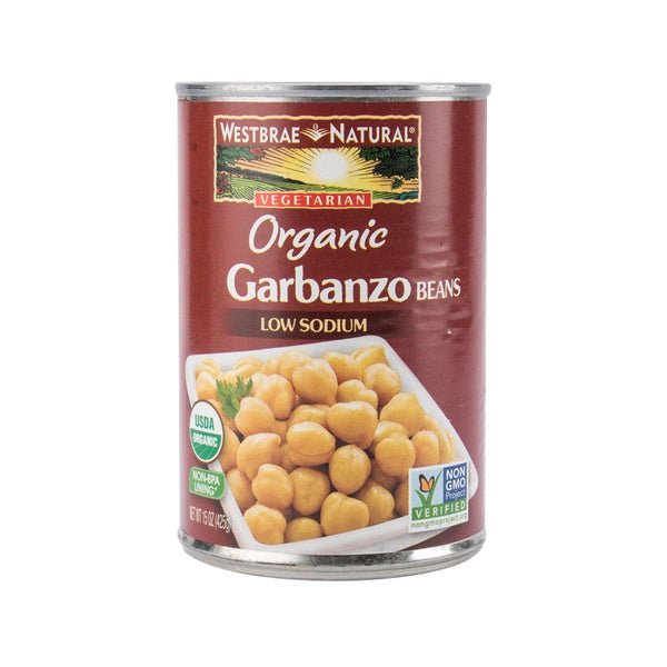 WESTBRAE NATURAL Organic Garbanzo Beans  (425g)