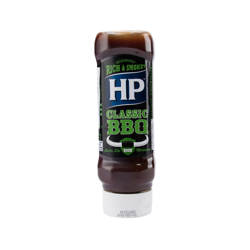 HP Classic Woodsmoke Flavour BBQ Sauce  (465g)