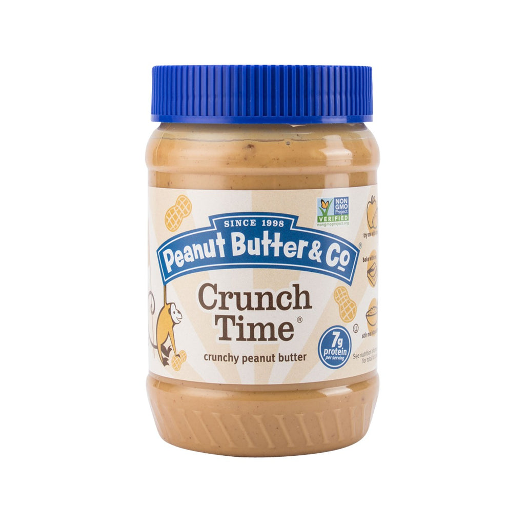 PEANUT BUTTER & CO. Crunch Time Peanut Butter Spread  (454g)
