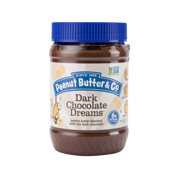 PEANUT BUTTER & CO. Peanut Butter with Rich Dark Chocolate  (454g)