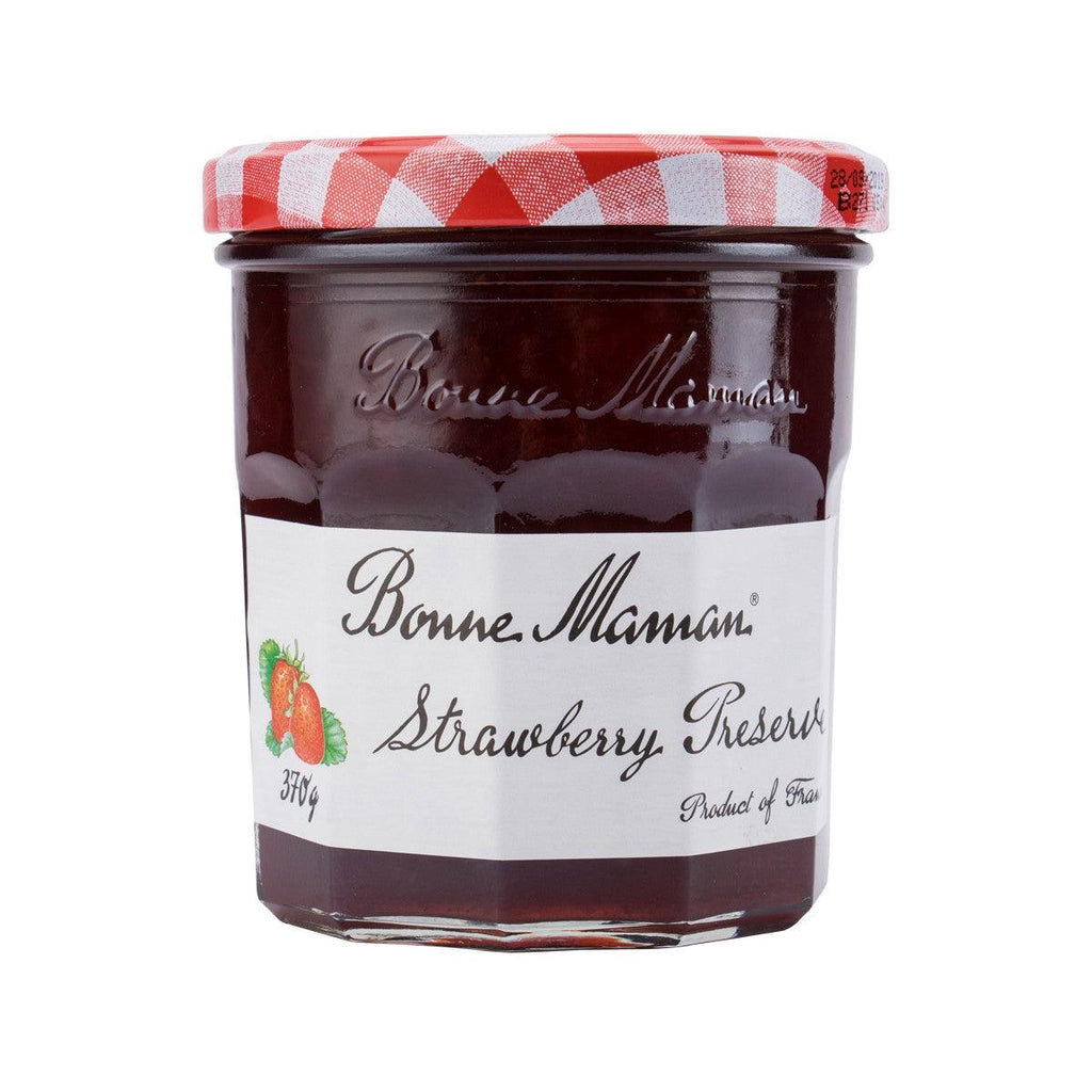 BONNE MAMAN Strawberry Extra Jam  (370g)