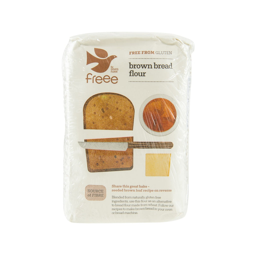 DOVES FARM Freee Gluten Free Brown Bread Flour Blend  (1kg)