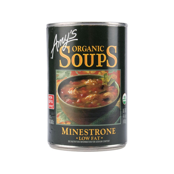 Amy`S Kitchen Organic Soups - Low Fat Minestrone(400g)