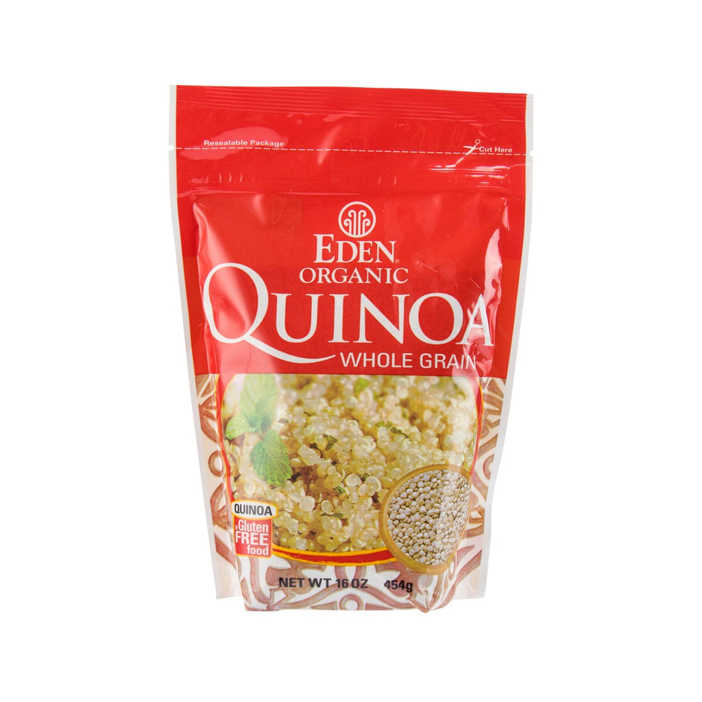 EDEN Organic Whole Grain White Quinoa  (454g)