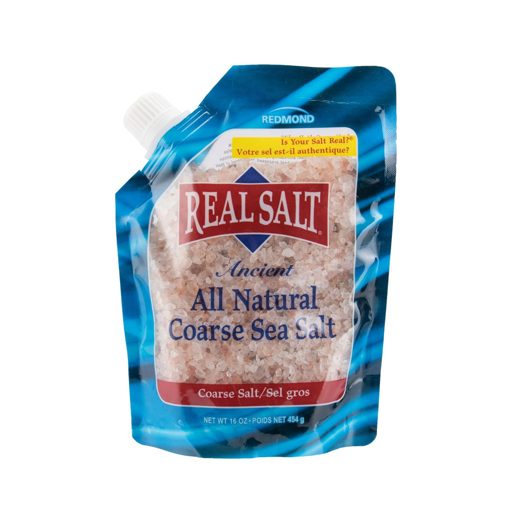 REALSALT All Natural Coarse Sea Salt  (454g)
