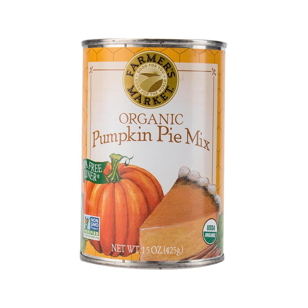 FARMERS MARKET Organic Pumpkin Pie Mix  (425g)