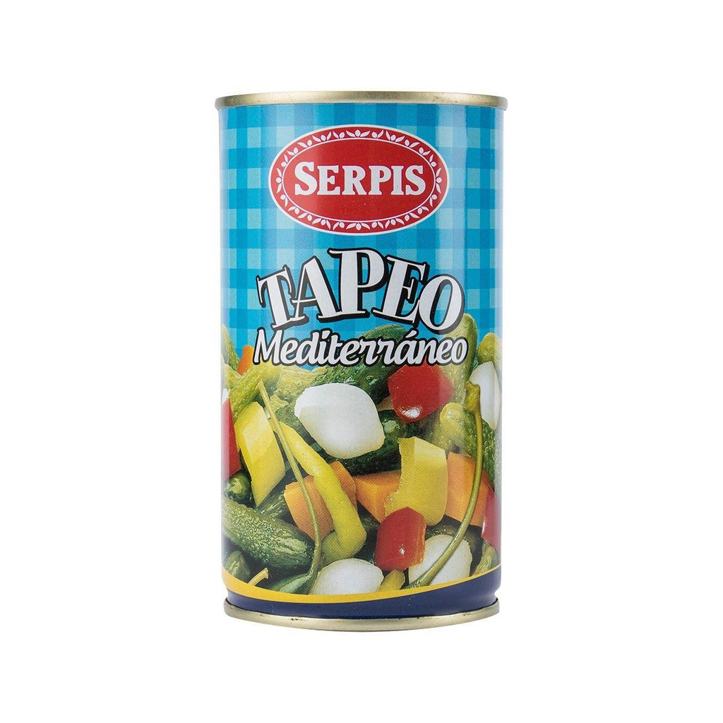 Tapeo Mixed Of Olive & Pickles Mediterraneo(350g)