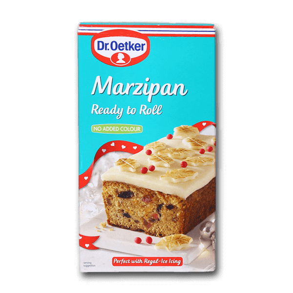 DR. OETKER Ready to Roll Marzipan - No Added Colour  (454g)