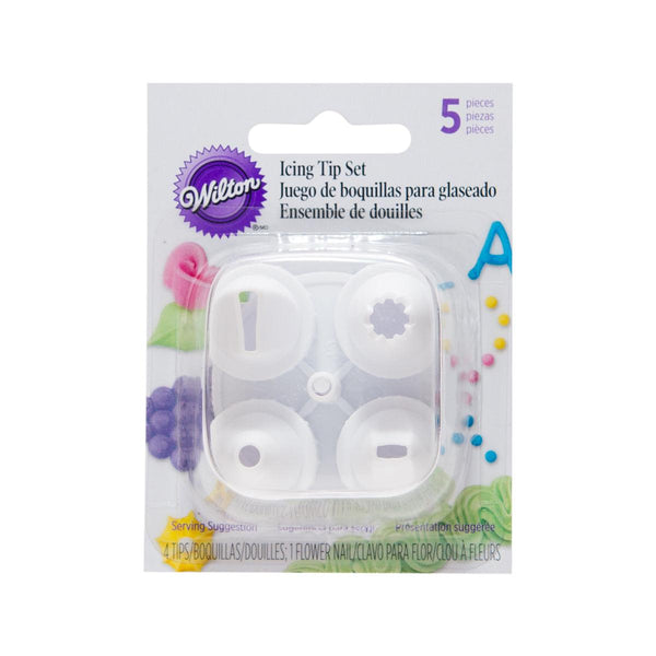 WILTON Icing Tip Set  (4pcs)
