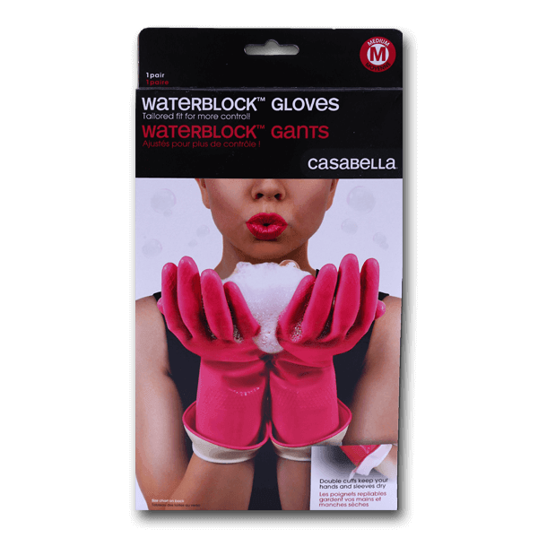 CASABELLA WaterBlock? Premium Cleaning Gloves - Medium