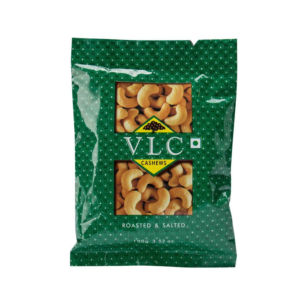 VLC Roasted & Salted Cashews  (100g)