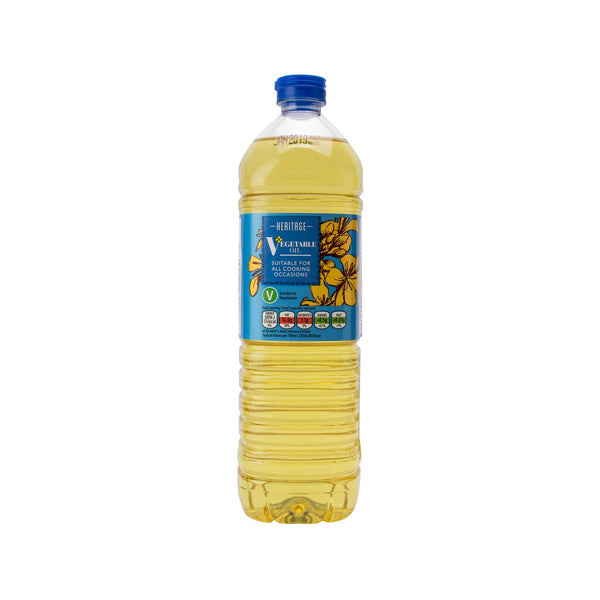 HERITAGE Pure Vegetable Oil  (1L)