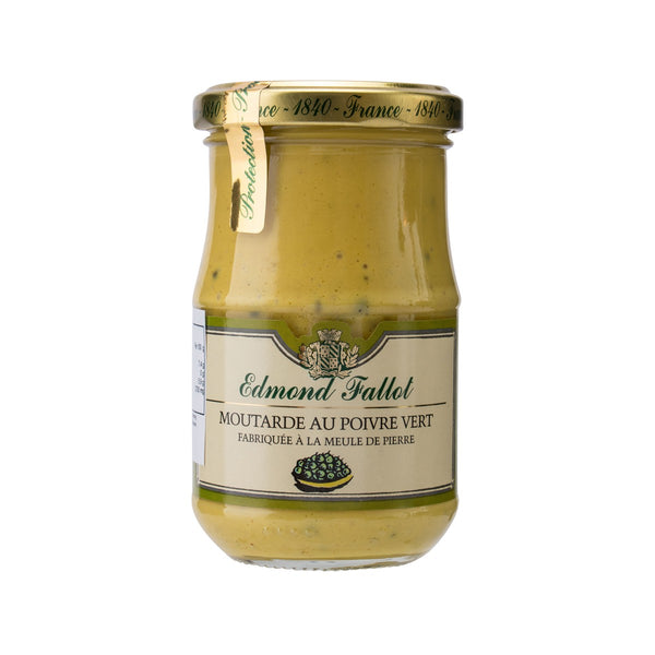 EDMOND FALLOT Green Pepper Dijon Mustard  (210g)