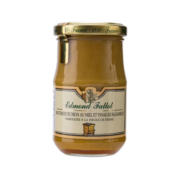 EDMOND FALLOT Honey & Balsamic Dijon Mustard  (210g)