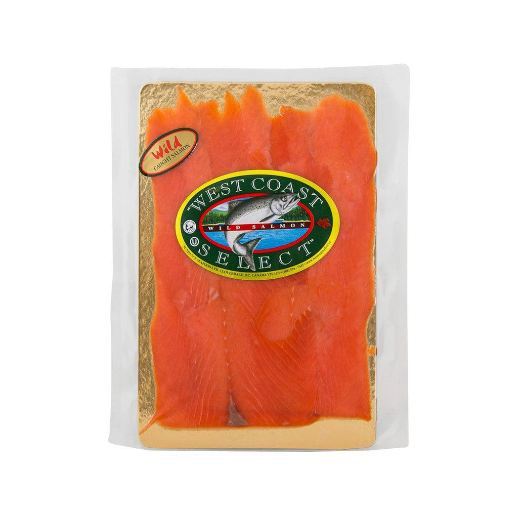 WEST COAST Smoked Sockeye Salmon - Wild Caught  (200g)