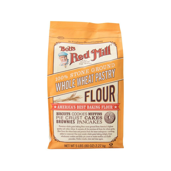 Bob's Red Mill Wholewheat Pastry Flour(2.27kg)