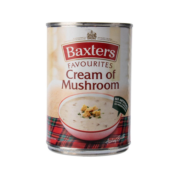 BAXTERS Favourites Soup - Cream of Mushroom  (400g)