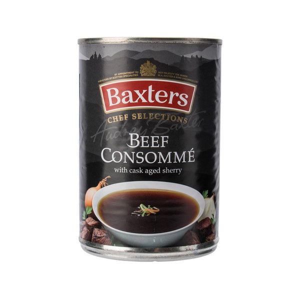 BAXTERS Chef Selections Beef Consomme with Cask Aged Sherry  (400g)