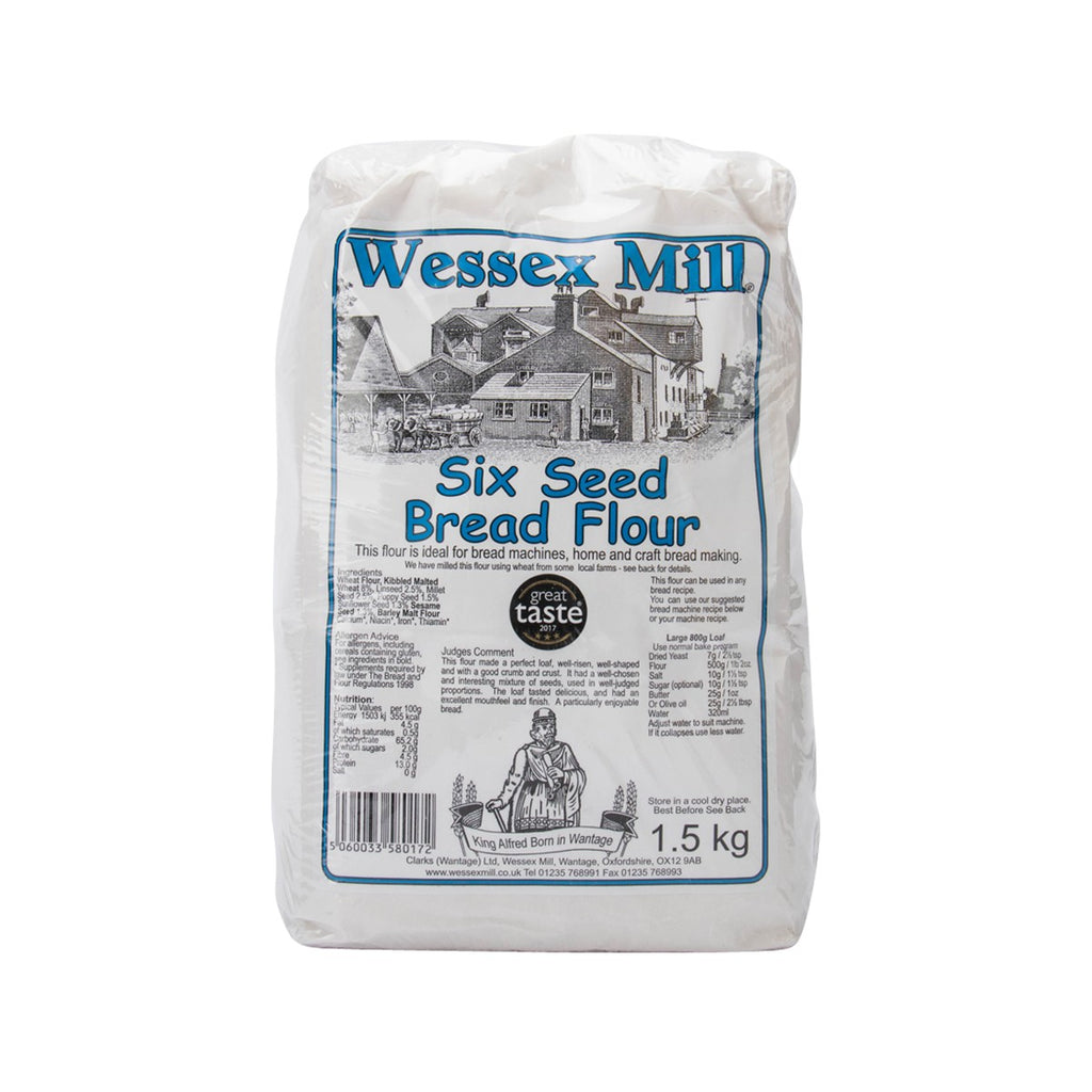 WESSEX MILL Six Seed Bread Flour  (1.5kg)