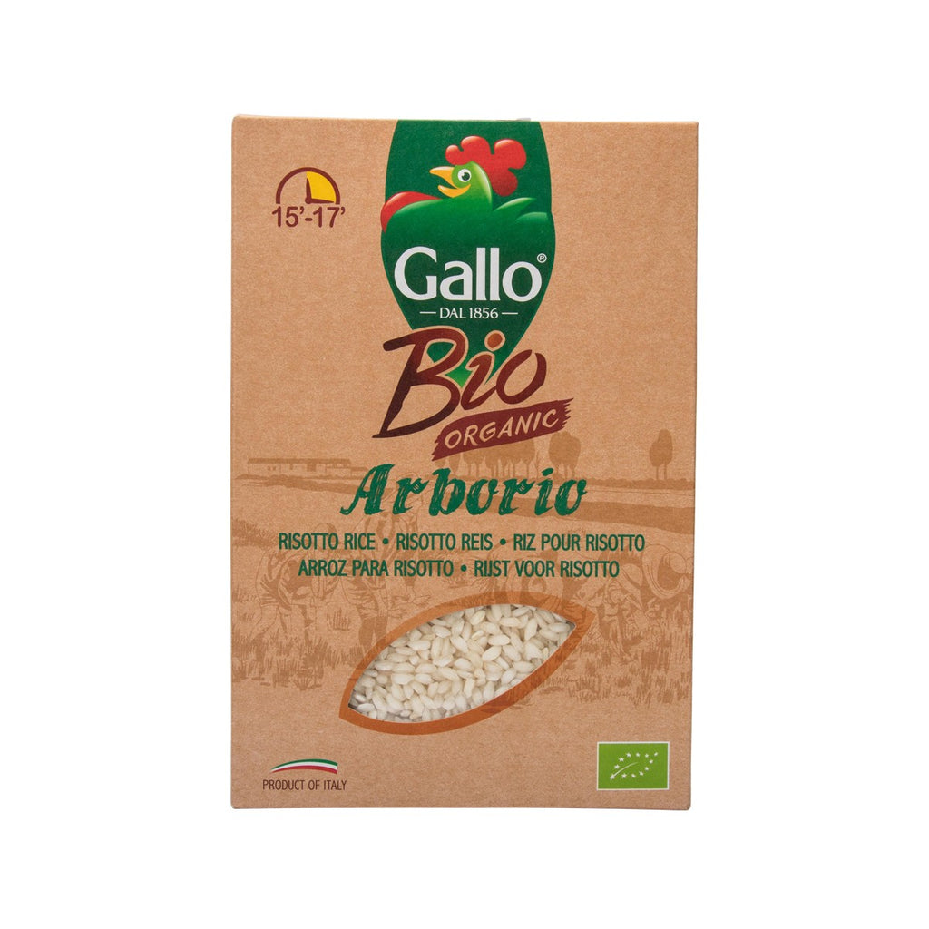 Riso Gallo Organic Arborio Risotto Rice(500g)