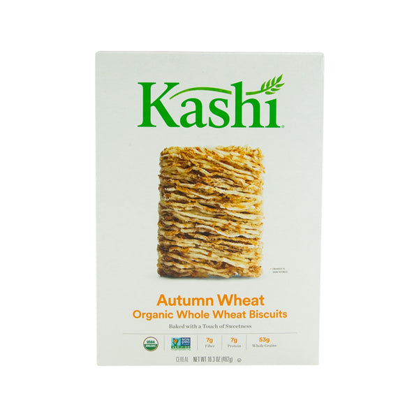 KASHI Organic Whole Wheat Biscuits - Autumn Wheat  (462g)