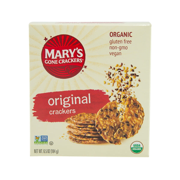MARY'S GONE Organic Gluten Free Original Crackers  (184g)