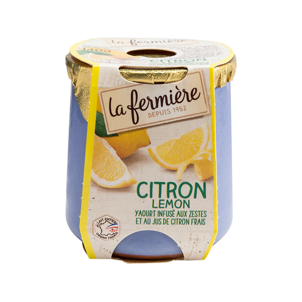 LA FERMIERE Yogurt - Sweet Lemon  (140g)