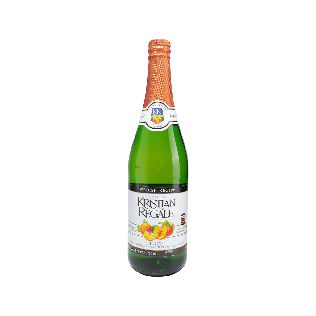 KRISTIAN REGALE Sparkling Peach Juice Beverage  (750mL)