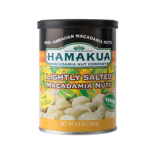 HAMAKUA PLANTATIONS Lightly Salted Macadamia Nuts  (128g)