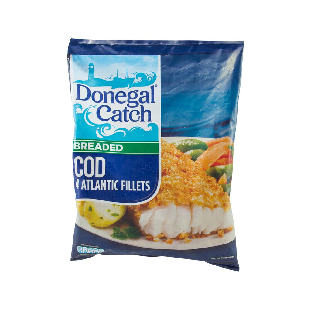 DONEGAL CATCH Breaded Cod  (429g)