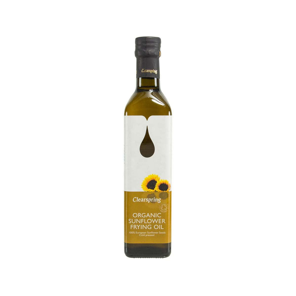 CLEARSPRING Organic Sunflower Frying Oil  (500mL)