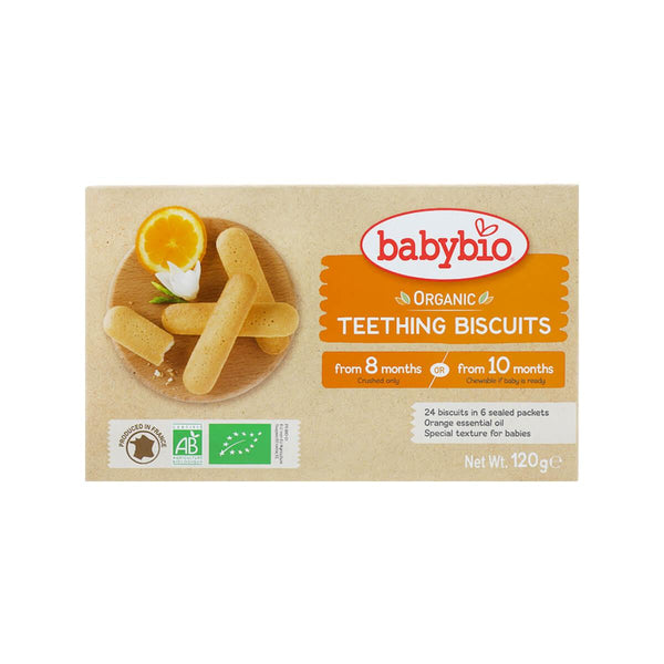 Babynat Organic Teething Biscuits(120g)