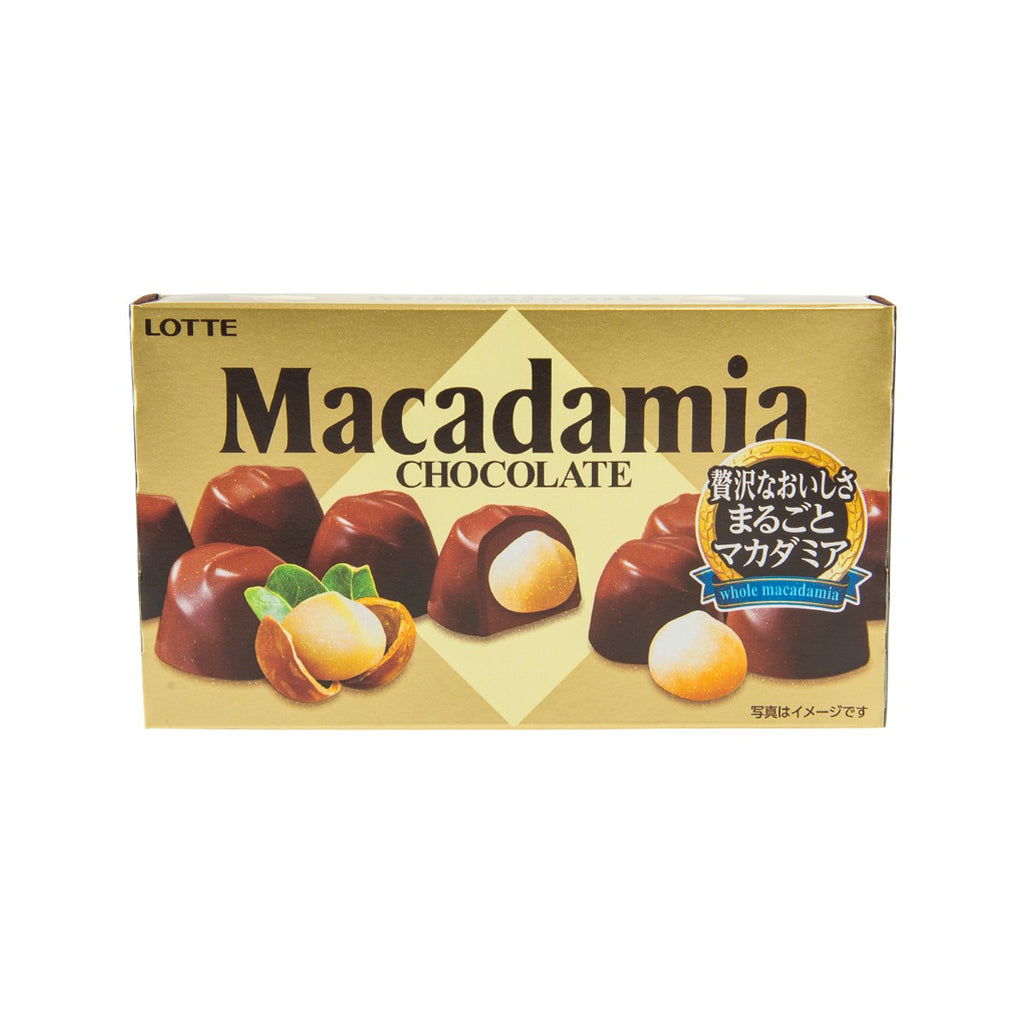 LOTTE Macadamia Chocolate  (9pcs)
