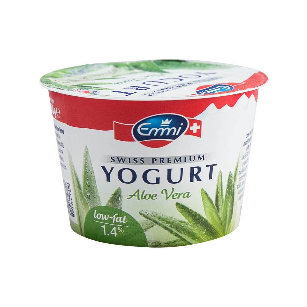EMMI Swiss Premium Low Fat Yogurt - Aloe Vera  (100g)