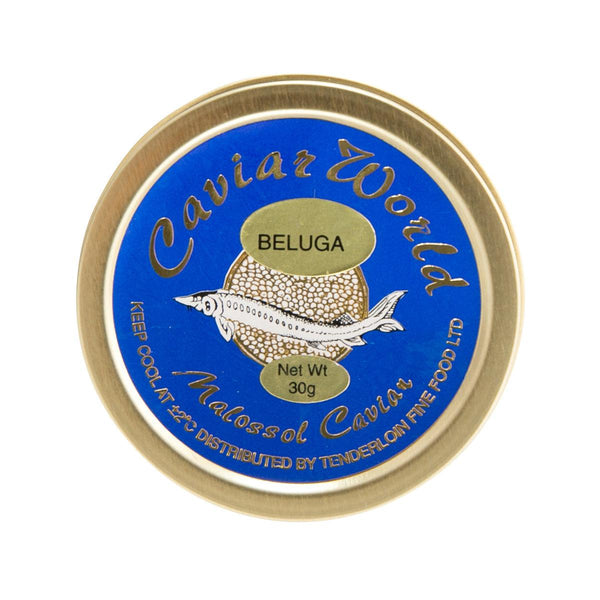 CAVIAR WORLD Farmed Beluga Malossol Caviar  (30g)