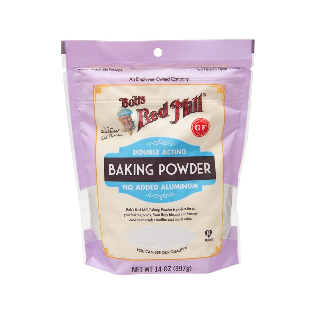 BOB'S RED MILL Double Acting Baking Powder - No Added Aluminum  (397g)