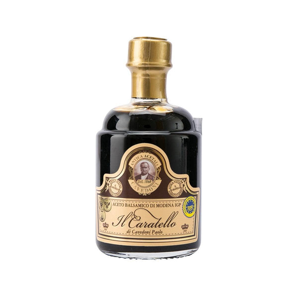 CAVEDONI 'Il Caratello' Balsamic Vinegar of Modena  (250mL)