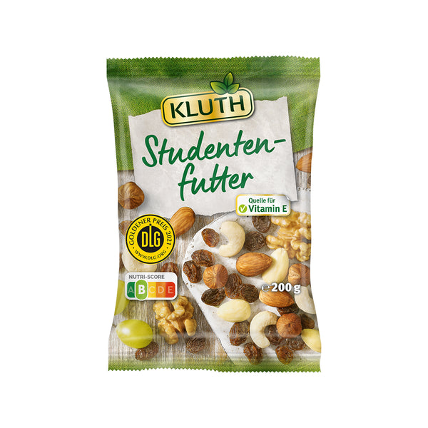 KLUTH Trail Mix - Assortment of Nuts and Raisins  (200g)