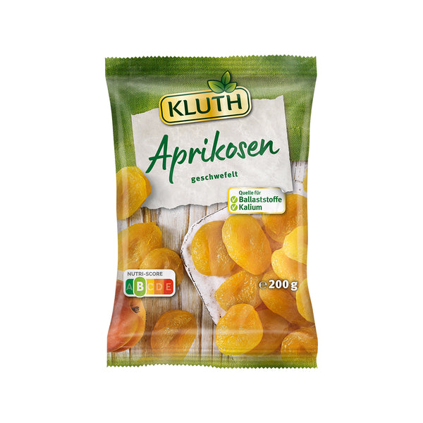 KLUTH Dried Apricots  (200g)