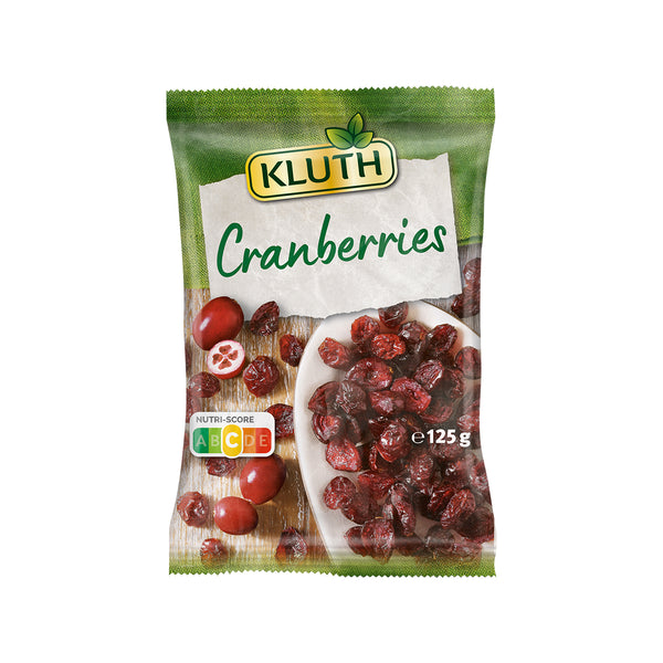 KLUTH Cranberries Dried Unsulphured  (125g)