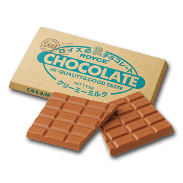 ROYCE' Chocolate Bar - Creamy Milk  (115g)