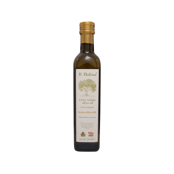 IL MOLINO Organic Extra Virgin Olive Oil  (500mL)