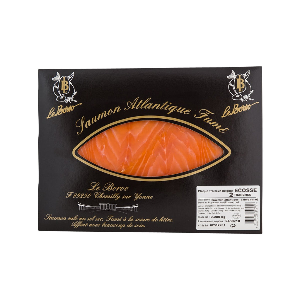 Le Borvo Sliced Smoked Atlantic Salmon(80g)