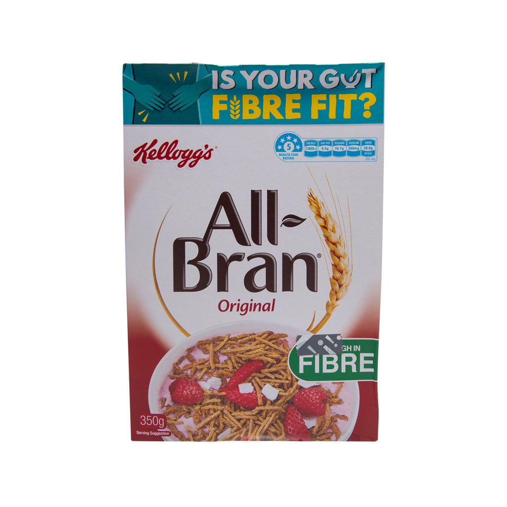 KELLOGG'S All-Bran Wheat Bran Cereal  (350g)