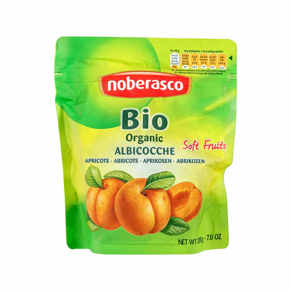 NOBERASCO Organic Dried Apricots  (200g)