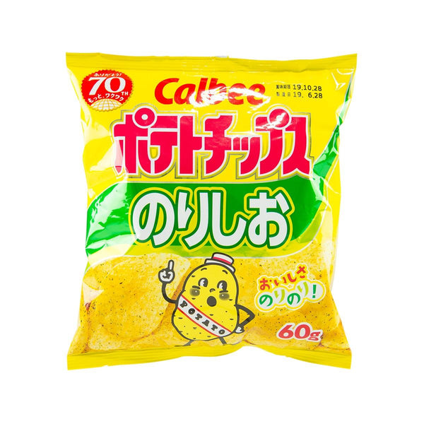 CALBEE Potato Chips - Seaweed & Salt  (60g)