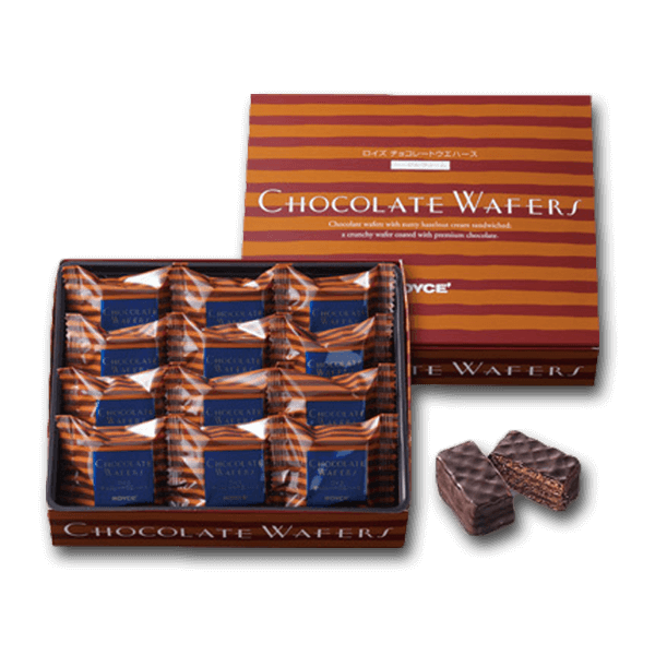 ROYCE' Chocolate Wafers - Hazel Cream  (12pcs)