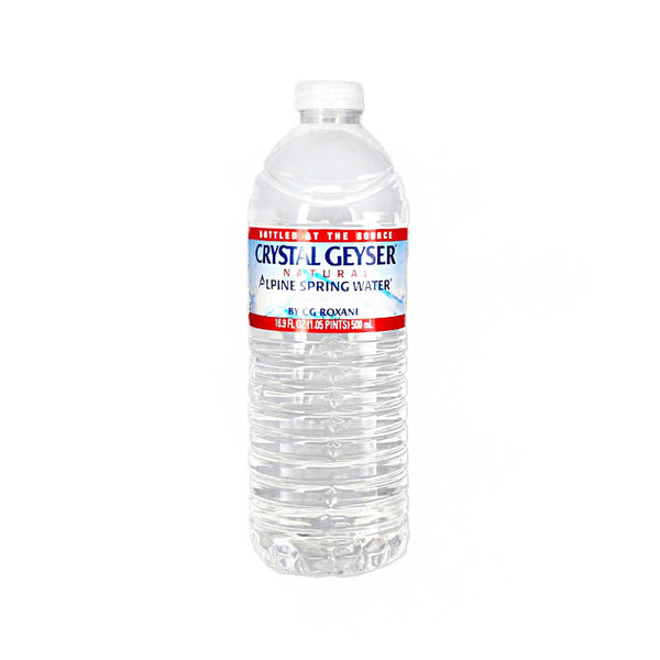 CRYSTAL GEYSER Natural Alpine Spring Water  (500mL)
