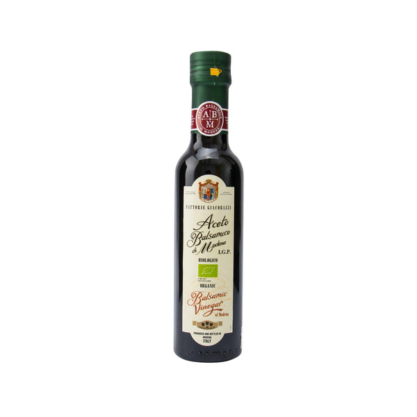 Fattorie Giacobazzi Organic Balsamic Vinegar of Modena(250mL)